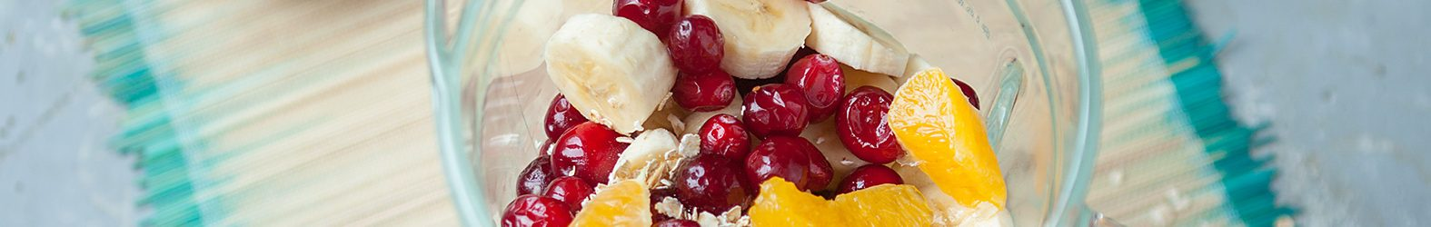 Havermoutsmoothie met cranberry's